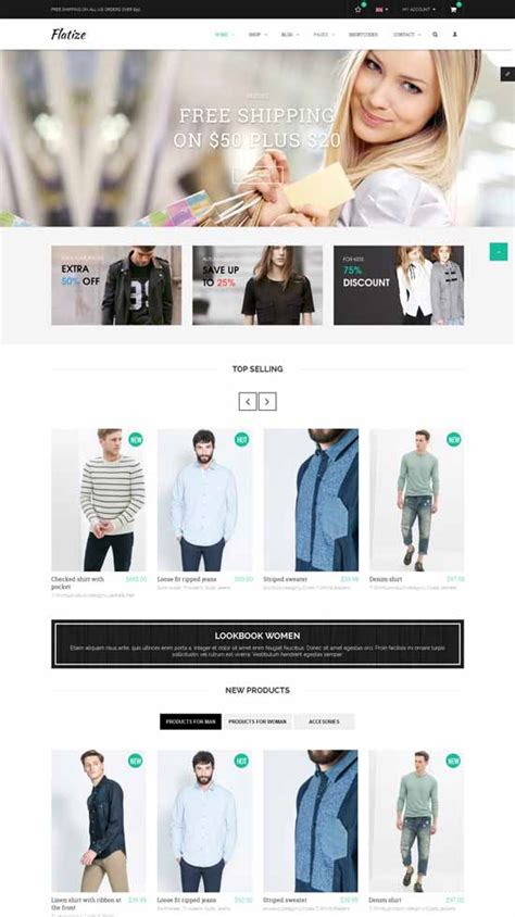 Fashion Ecommerce Templates 20 best clothes fashion joomla templates 2017 freshdesignweb