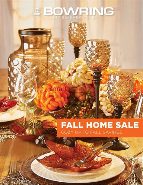 bowring home decor bowring fall home sale catalog october 2 to 13