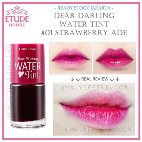 Harga Etude House Water Tint Original water tint dear liptint etude house korea