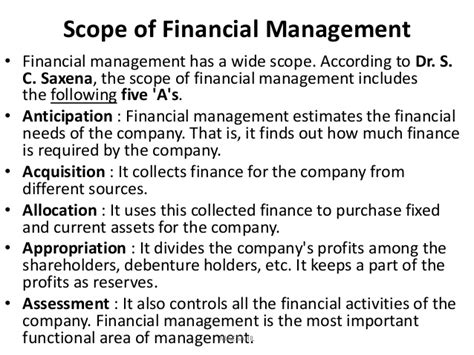 Management Of Financial Services Mba Notes by Financial Management Complete Note