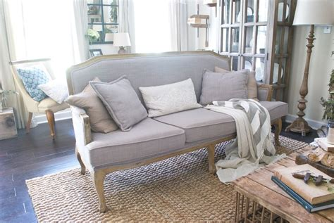 farmhouse sofa plum pretty decor design co my cozy french farmhouse