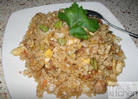 resep nasi goreng ayam pete mikimoow