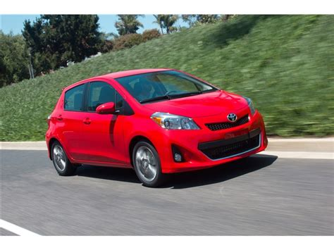 Toyota Yaris Reliability Ratings 2013 Toyota Yaris Prices Reviews And Pictures U S News