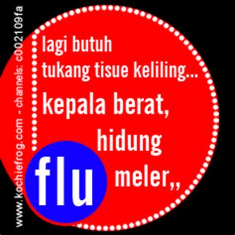 dp bbm sakit flu gak enak badan