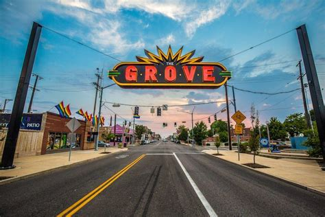 The Grove the grove explore st louis