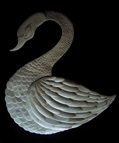 Swan Paper Craft - swan paper craft on student show