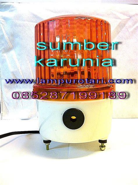 Lu Rotary Ac 4 Inch Merah jual lu rotary ac 220v buzer harga murah jakarta oleh