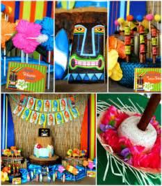 the fantastic luau decorations the home