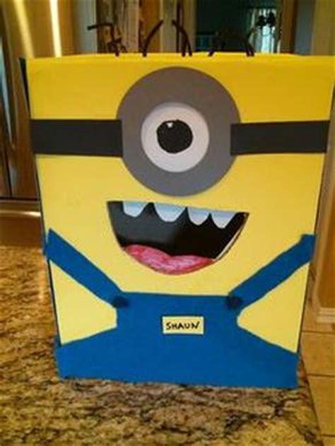 how to make a minion valentines day box box ideas grandparentsplus