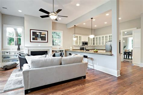 le modern wohnzimmer wohnzimmer mit k 252 che 34 moderne designs archzine net