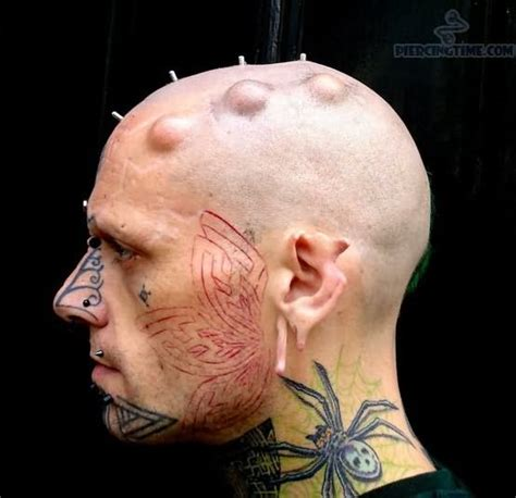 tattoos on neck for men spider neck for busbones