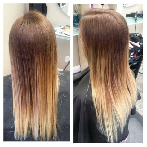 pictures of brown to blonde ombres red brown to blonde ombre hair pinterest ombre