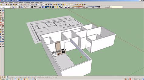 imagenes para google sketchup sketchup modelo de casa t 233 rrea com foto da planta baixa