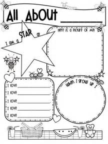 188 best all about me images on preschool