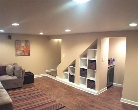 Finished Basement Storage Underneath Stairs For The Home Finished Basement Storage Ideas