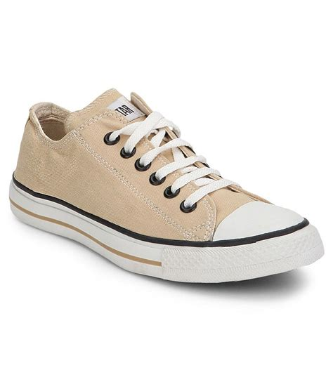 converse beige casual shoes