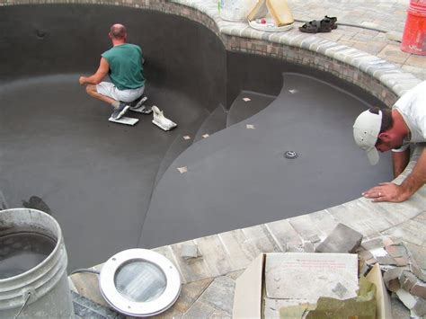 a short guide to various types of pool finishes