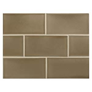 subway tiles colors vermeere ceramic tile slate brown crackle 3 quot x 6 quot subway tile