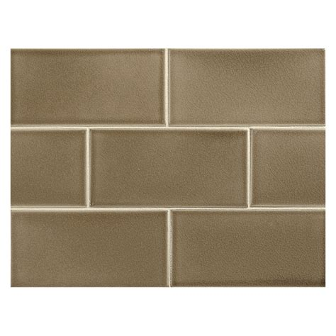 subway tiles colors vermeere ceramic tile slate brown crackle 3 quot x 6