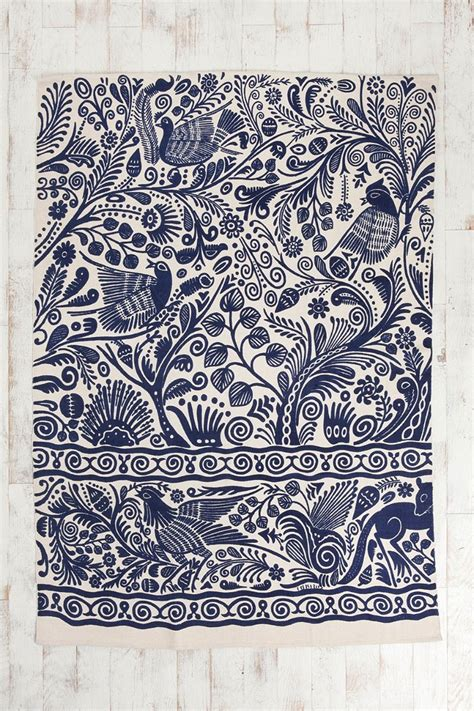 urbanoutfitters rug 5x7 batik bird handmade rug outfitters