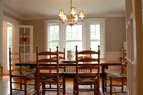 New England Style Dining Room Traditional Dining Room Dining Rooms Boston