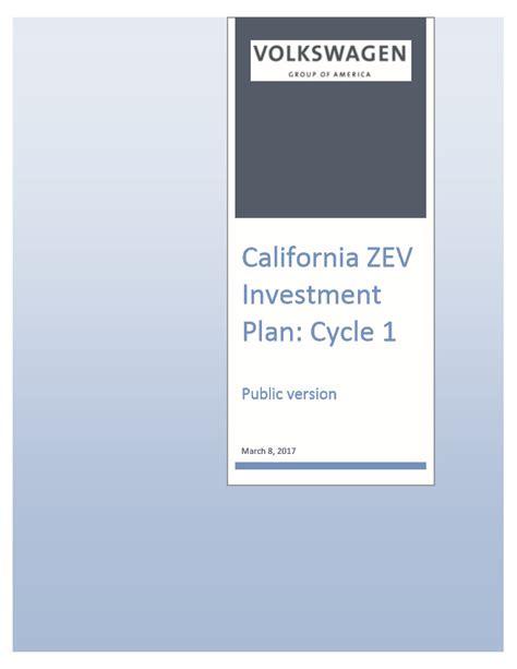 vw california zev investment plan released atlas ev hub