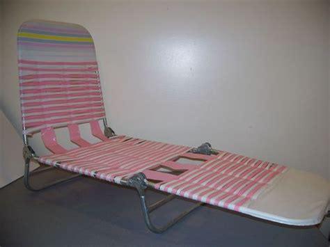 plastic fold out lounge chair childs vintage plastic vinyl lawn chaise lounge