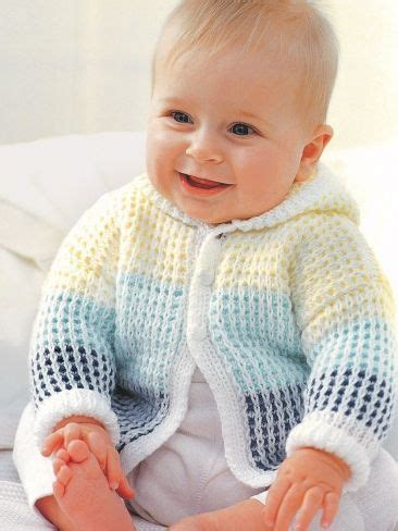 Baby Hooded Cardigan one hoodie knitting patterns in the loop knitting