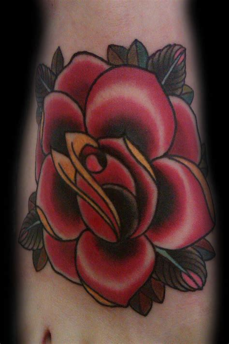 foot rose tattoo designs delicate designs for 2011 foot