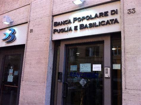 Banca Pop Puglia E Bas by Rapina A Scanzano Nella Banca Popolare Di Puglia E