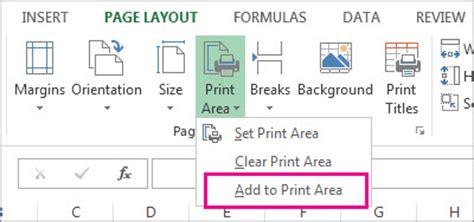 set printable area excel mac 特定の印刷範囲を設定する excel