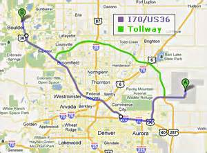 Colorado Toll Roads Map by Directions To Gsa