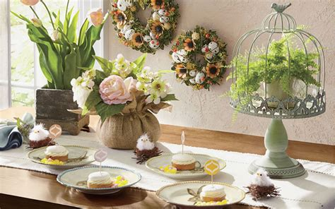 Easter Table Decoration Ideas Table Centerpiece Ideas Pinterest