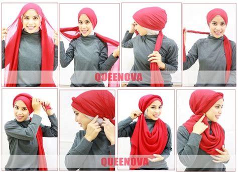 tutorial jilbab headband 56 best hijab scarf tutorials images on pinterest hijab