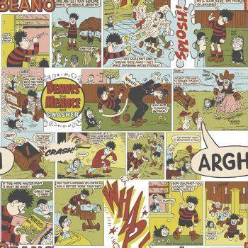 beano comic kids wallpaper multi coloured  kids
