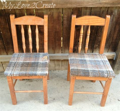 chairs into bench old chairs into new bench my love 2 create