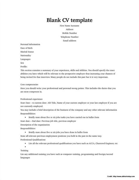 student resume templates free download resume resume