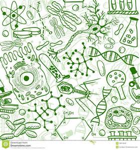 biology seamless pattern royalty free stock photo image
