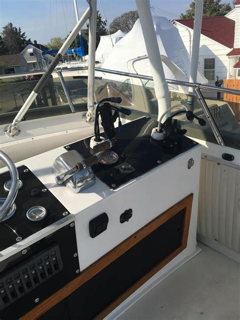 trojan boats for sale nj 1978 used trojan f 30 convertible fishing boat for sale