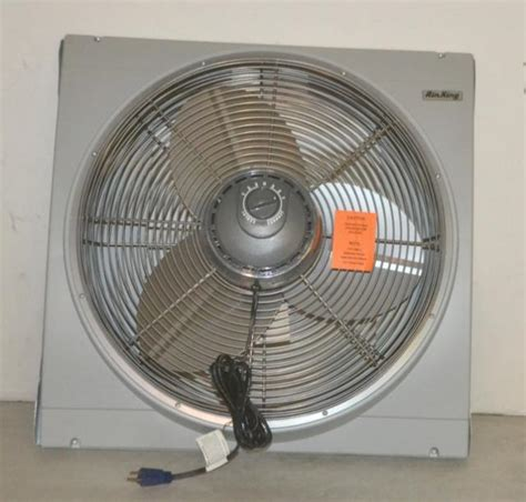 air king whole house fan window whole house fan air king 20 inch window mount whole
