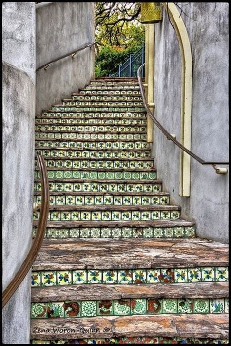 Garden Decoration Zemun by 11 Tiled Stairway 47 Amazing Staircases You Ll Want