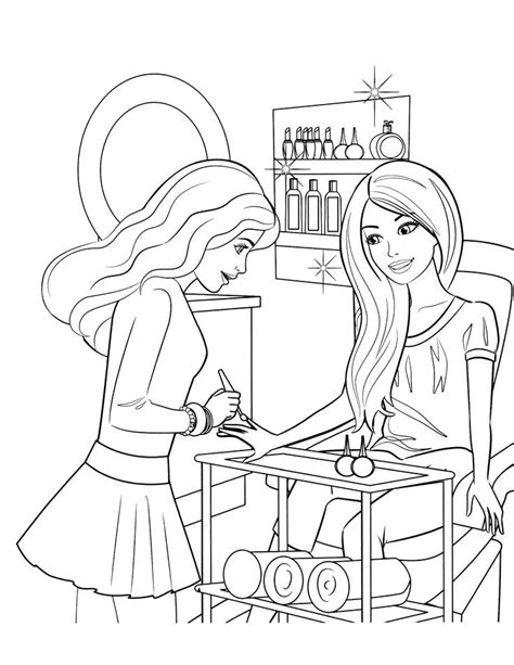 barbie beach coloring pages 25 best ideas about barbie coloring pages on pinterest