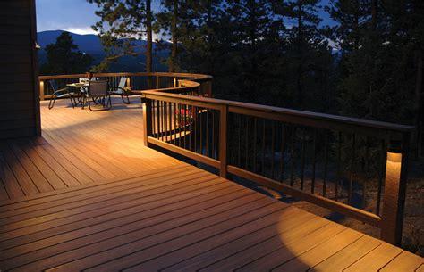 solar balcony lights solar deck lighting enhance your deck comfort advice