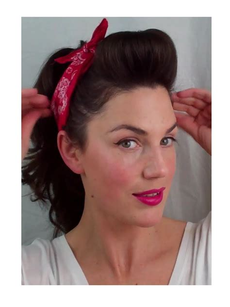 hair styles pinned up 6 pin up looks for beginners quick and easy vintage