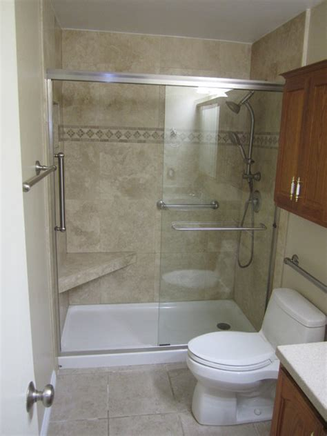 Geriatric Bathtubs by Bathtub To Shower Conversion Elderly Friendly