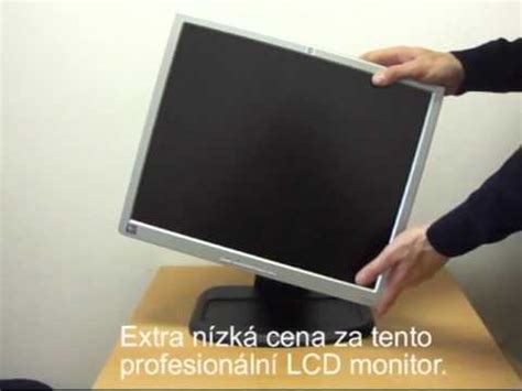how to reset an hp l1940 monitor ehow lcd monitor hp l1940 avi youtube