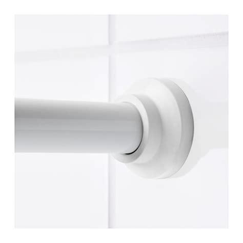 ikea shower curtain rod botaren shower curtain rod white 70 120 cm ikea