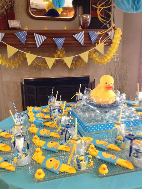 duck themed baby shower decorations rubber duck baby shower shelley beatty