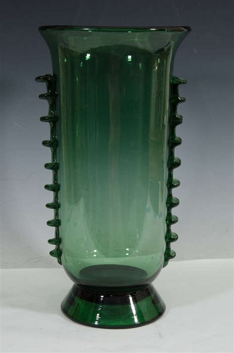 Italian Glass Vases by Midcentury Italian Glass Vase Inspired By Napoleone