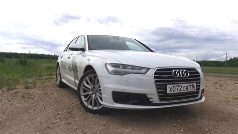 Audi A6 C7 Test 2017 audi a6 c7 2 0 tfsi quattro s tronic test drive youtube